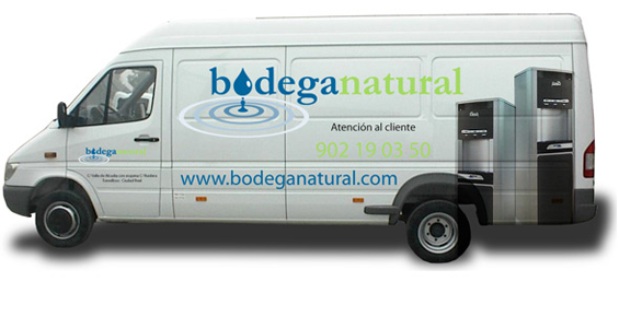 Our van silkscreened with the image from the web